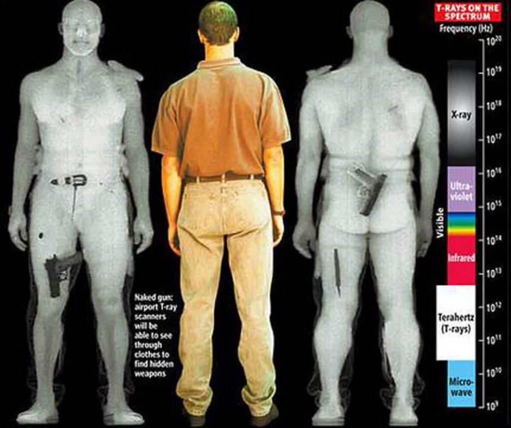 بازرسی ایکس ری بدن